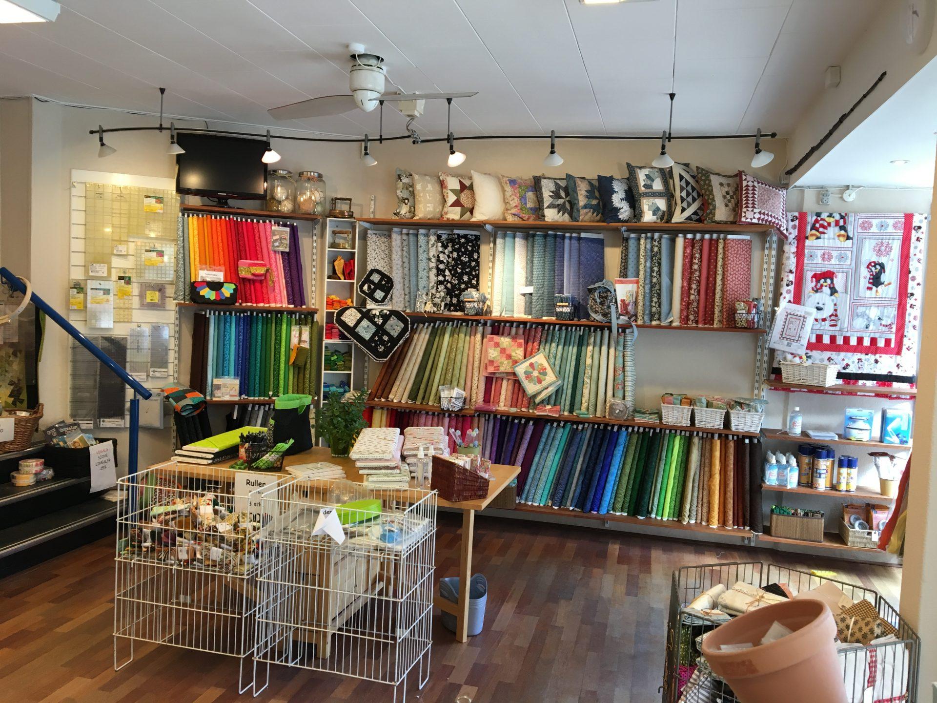 Stjerne Stoffer - Quilt Shop